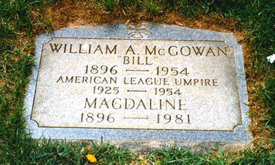 Hall Of Fame Baseball Gravesites
