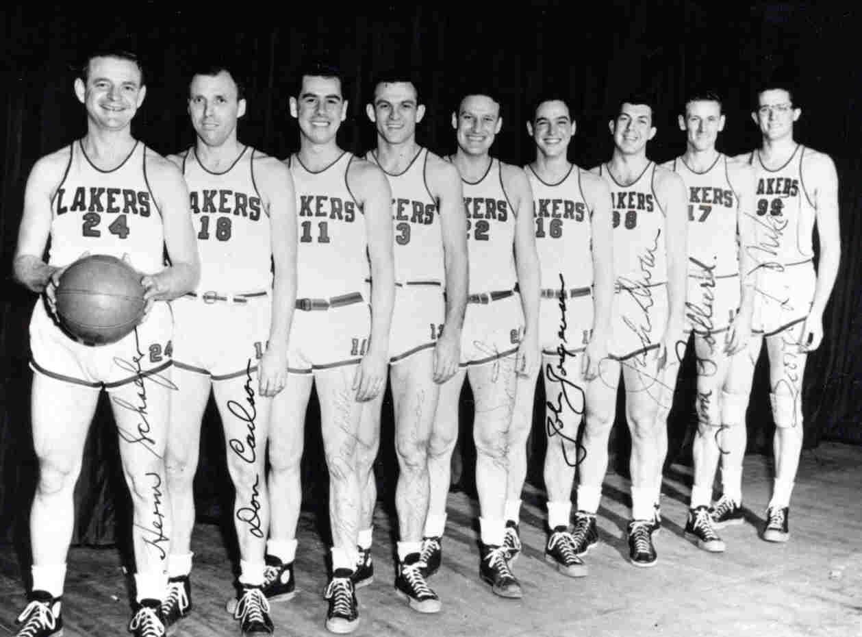 Minneapolis Lakers Uniform Numbers